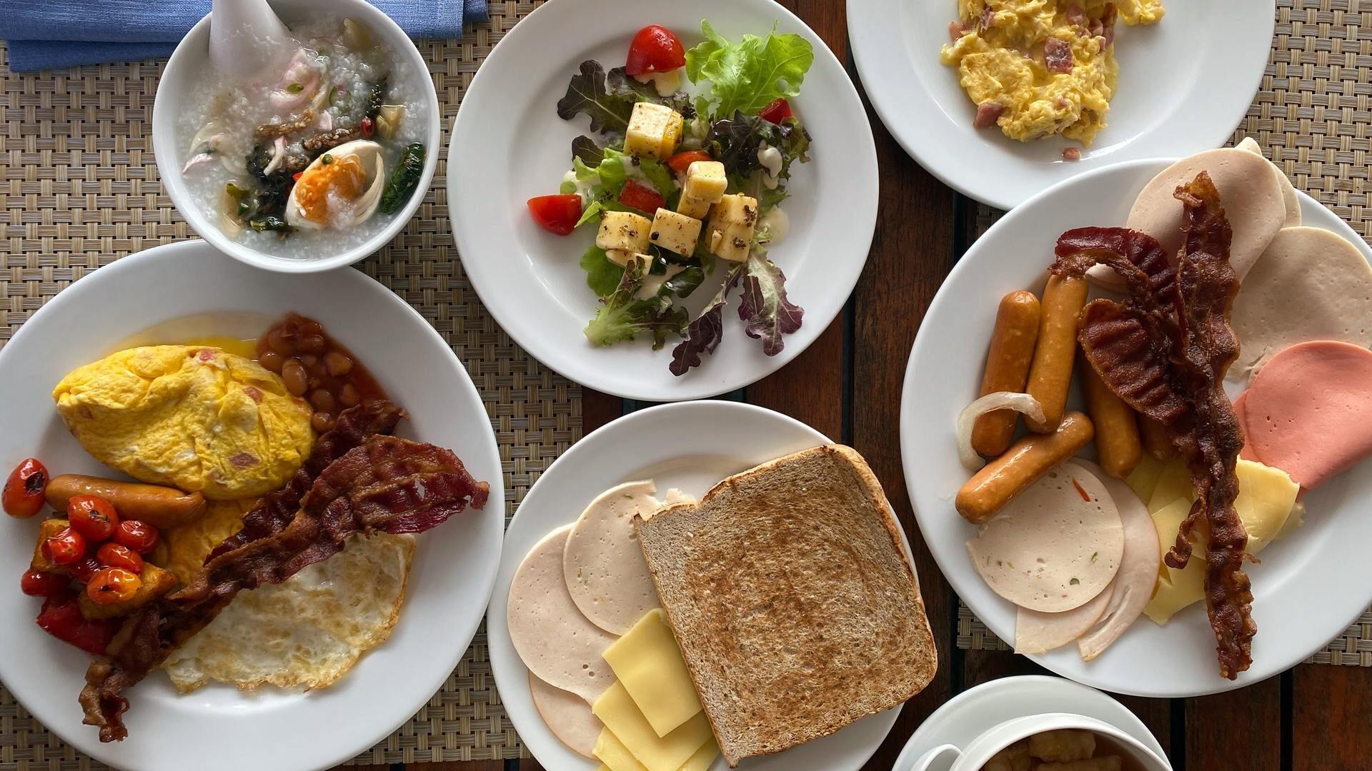 stevig ontbijten afvallen