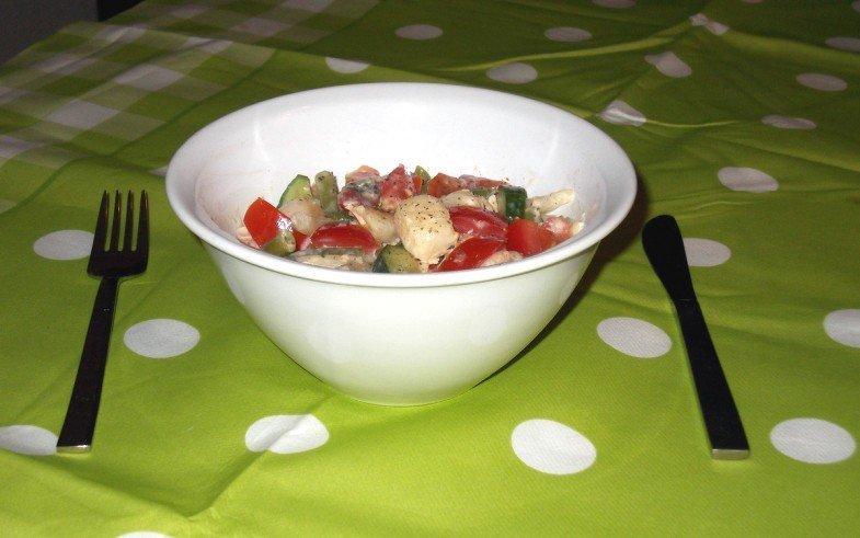 gezonde, frisse aardappelsalade