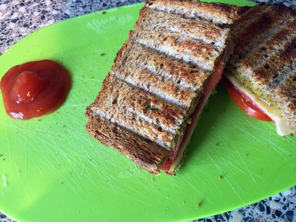 recept tosti met pesto