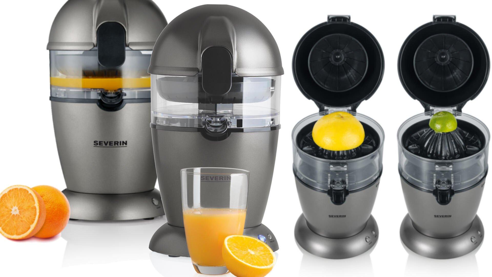 Severin automatische citruspers vers gezond vruchtensap