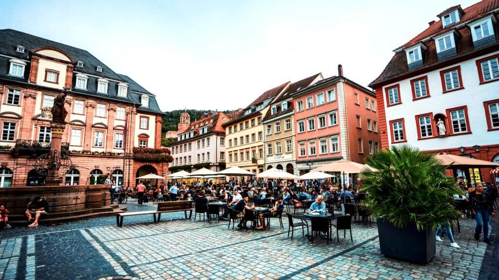 Duitsland restaurant uit eten terras